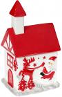 """Банка для солодощів """"Будиночок з оленем"""" керамічна 500мл"""