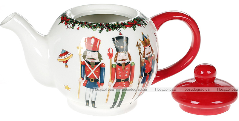 Чайник заварочный «Щелкунчик - симфония детства» 1л, керамика