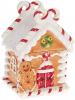 """Банка для солодощів """"Карамелька"""" Будиночок 9х8х13см, 170мл, кераміка"""