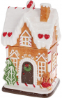 """Банка для солодощів """"Повітряний Крем"""" Будиночок 16х14х27см, 1.3л, кераміка"""