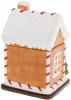 """Банка для солодощів """"Повітряний Крем"""" Будиночок 13х11х19см, 650мл, кераміка"""