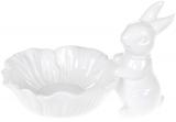 """Блюдо-цукерниця """"Кролик з квіткою"""" 29х20х19см, кераміка"""