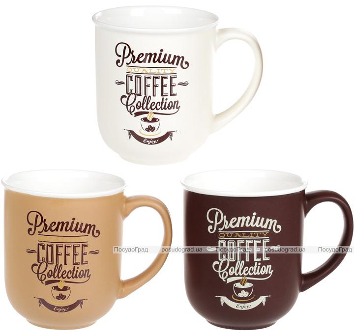 Кружка Premium Coffee 380мл фарфорова