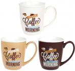 Кружка Morning Coffee 340мл фарфоровая