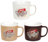 Кружка Hot Coffee 380мл фарфорова