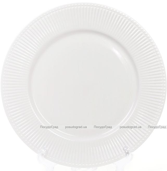 Набір 8 порцелянових тарілок Emilia-Romagna Ø27см, обідні