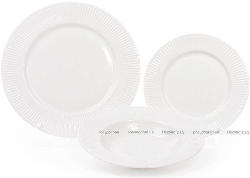 Набір 6 порцелянових тарілок Emilia-Romagna Ø22см, порційні