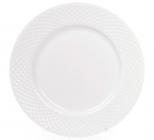 Набір 12 порцелянових тарілок Emilia-Romagna Ø20.5см, десертні (сітка)