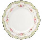 Набор 8 фарфоровых десертных тарелок Bristol Ø21см, мятный цвет