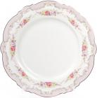 Набір 8 порцелянових обідніх тарілок Bristol Ø27.5см, рожевий колір