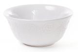 Набір 6 салатників (піал) Leeds Ceramics 800мл, кам'яна кераміка (білі)