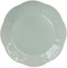 Набор 6 обеденных тарелок Leeds Ceramics Ø28.5см, каменная керамика (мятные)