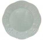 Набір 6 десертних тарілок Leeds Ceramics Ø23см, кам'яна кераміка (м'ятні)