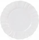 Набір 6 обідніх тарілок Leeds Ceramics SUN Ø26см, кам'яна кераміка (білі)