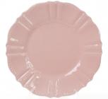Набір 6 десертних тарілок Leeds Ceramics SUN Ø20см, кам'яна кераміка (рожеві)