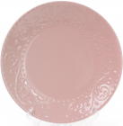 Набір 6 обідніх тарілок Leeds Ceramics Ø27.5см, кам'яна кераміка (рожеві)