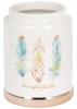 """Підставка-стакан Плюмаж """"Перо жар-птиці"""" для кухонних аксесуарів 10.2х10.2х13.2см"""