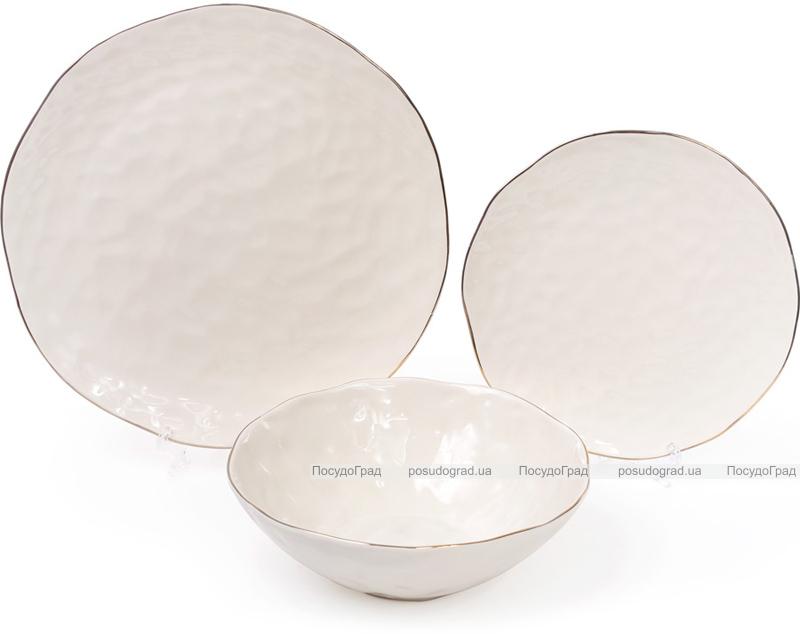 Салатник керамический Bergamo 1.1л, цвет слоновой кости