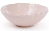 Салатник керамический Bergamo 1.1л, розовый