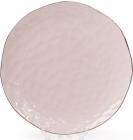 Набор 4 тарелки Bergamo Ø24.5см, розовые