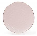 Набор 4 тарелки Bergamo Ø21.5см, розовые
