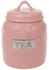 """Банка фарфорова Necollie """"Tea"""" 900мл, рожева"""