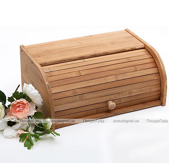"""Хлебница """"ЭКО-стиль"""" 40x27x16, влагостойкий бамбук"""