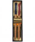 """Набор """"ЭКО-стиль"""" 2 пары подарочных бамбуковых палочек"""