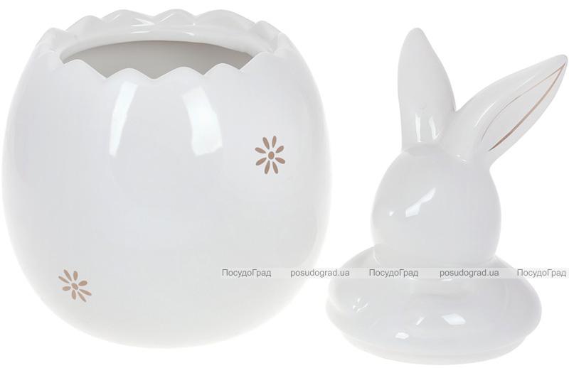 """Банка для продуктов """"Белый Кролик"""" 2.3л керамика"""