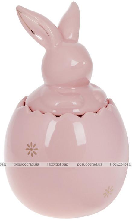 """Банка для продуктов """"Розовый Кролик"""" 2.3л керамика"""