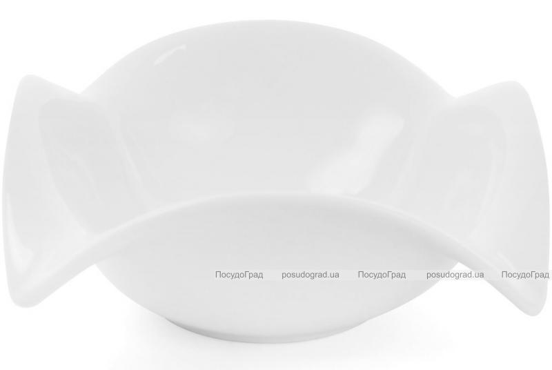 "Набор 4 фарфоровых салатника ""White City Опера"" 300мл (белый фарфор)"