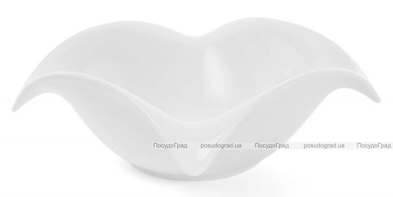 "Набор 3 фарфоровых салатника ""White City Опера"" 550мл (белый фарфор)"