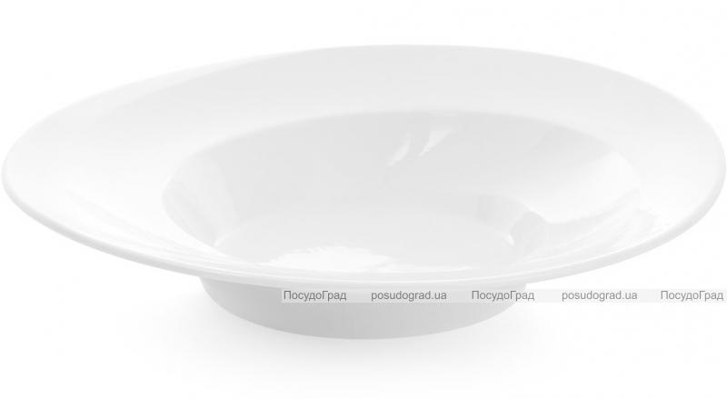 """Набор 3 фарфоровые суповые тарелки """"White City"""" Ø27см (белый фарфор)"""