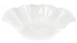 """Набір 6 порцелянових салатників """"White City Хвиля"""" 1200мл Ø25.5см, білий фарфор"""