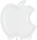 """Блюдо фарфорове """"White City Яблуко"""" 25.5см, білий фарфор"""