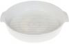 Форма для випічки Ainsley порцелянова кругла 30.7х27.2х5.8см з ручками (біла)