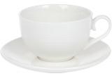 "Чайный набор ""White City Линии"" 4 чашки 310мл и 4 блюдца"