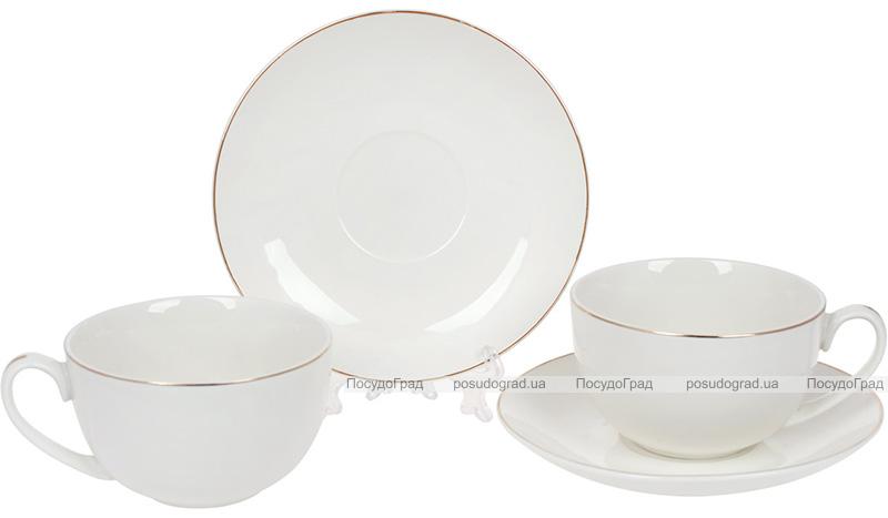 Чайний набір Princess Bona 2 чашки 220мл і 2 блюдця