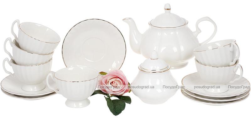 """Чайный набор Princess Bona """"Вивьен"""" 6 чашек 200мл и 6 блюдец"""