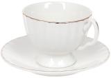 """Чайний набір Princess Bona """"Вів'єн"""" чашка 200мл з блюдцем"""