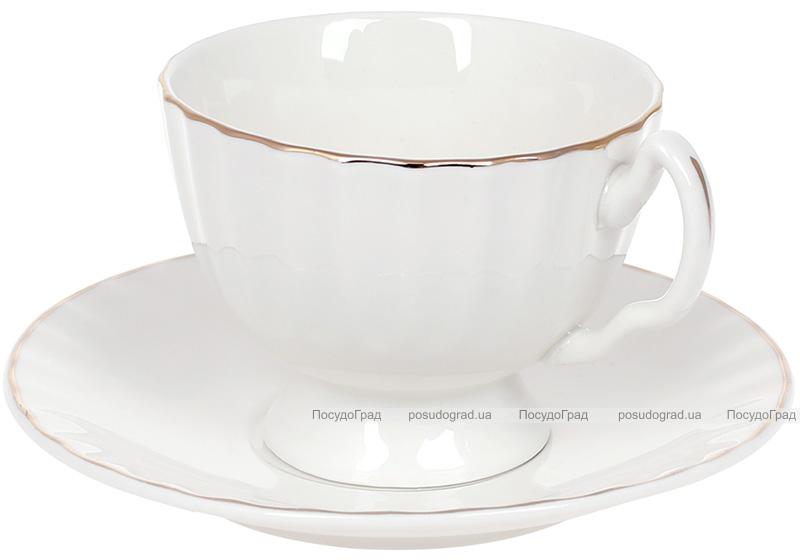 """Чайный набор Princess Bona """"Вивьен"""" чашка 200мл с блюдцем"""
