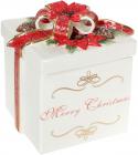 Банка «Merry Christmas» 2л, керамика с объемным рисунком