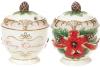Цукорниця «Merry Christmas» 300мл, кераміка з об'ємним малюнком