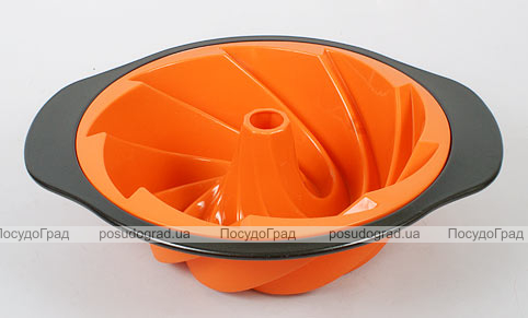 Силиконовая форма для выпечки Unico Cake с антипригарным каркасом Cone