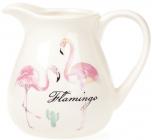 """Глечик """"Рожевий Фламінго"""" 900мл, керамічний"""