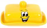 """Масленка """"Funny Smile"""" керамическая 18.1х13.6х2.8см"""