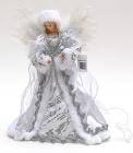 """Декоративна фігура-лялька """"Білий Ангел"""" 30см"""