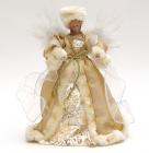 """Декоративна фігура-лялька """"Ангел в шубі"""" 30см"""