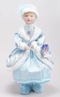 """Фігура-лялька """"Снігуронька в блакитному"""" 43см"""