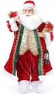 """Новогодняя игрушка """"Санта с подарками"""" 61см, красный"""